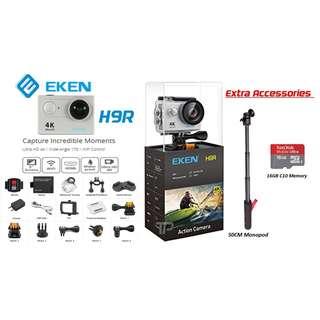 EKEN H9R ultra 4k WiFi NEW 2017 edition