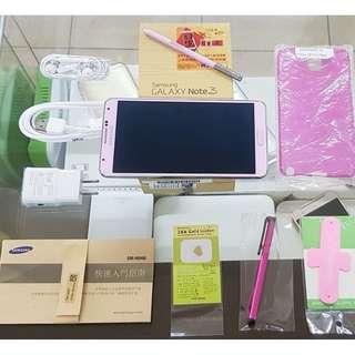 *典藏奇機*櫻花粉-內建32G高容量-雙四核心-Samsung GALAXY Note3