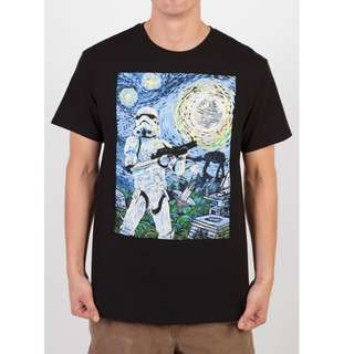Brand New Star Wars (Official Merchandise) Starry Stormtrooper Tshirt Tee From States
