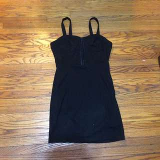 F21 Black Dress size L