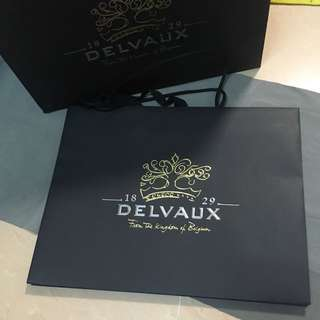 Delvaux 紙袋🌹