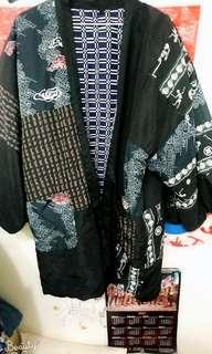 日本古著 ❤超稀有和服外掛 雙面穿