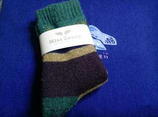 民族風厚毛襪子