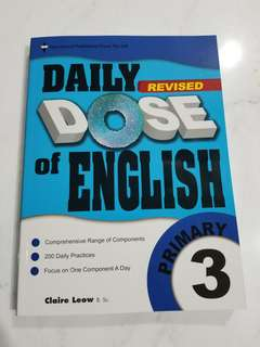Daily Dose of English for Primary 3