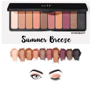 🚚 Instock | ELF Mad for Matte eyeshadow palette in Summer Breeze