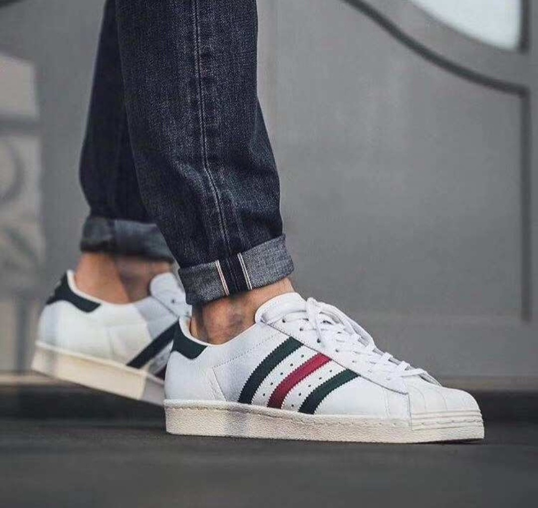 b557710dc9e Adidas Superstar 80s Italy 🇮🇹 Color Matching, Men's Fashion ...