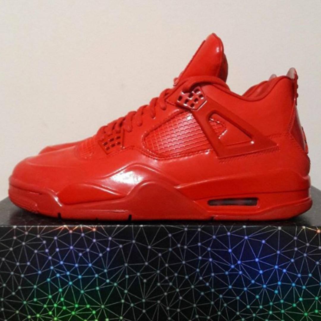 purchase cheap 85d25 046ab Air Jordan 11 Lab 4 University Red