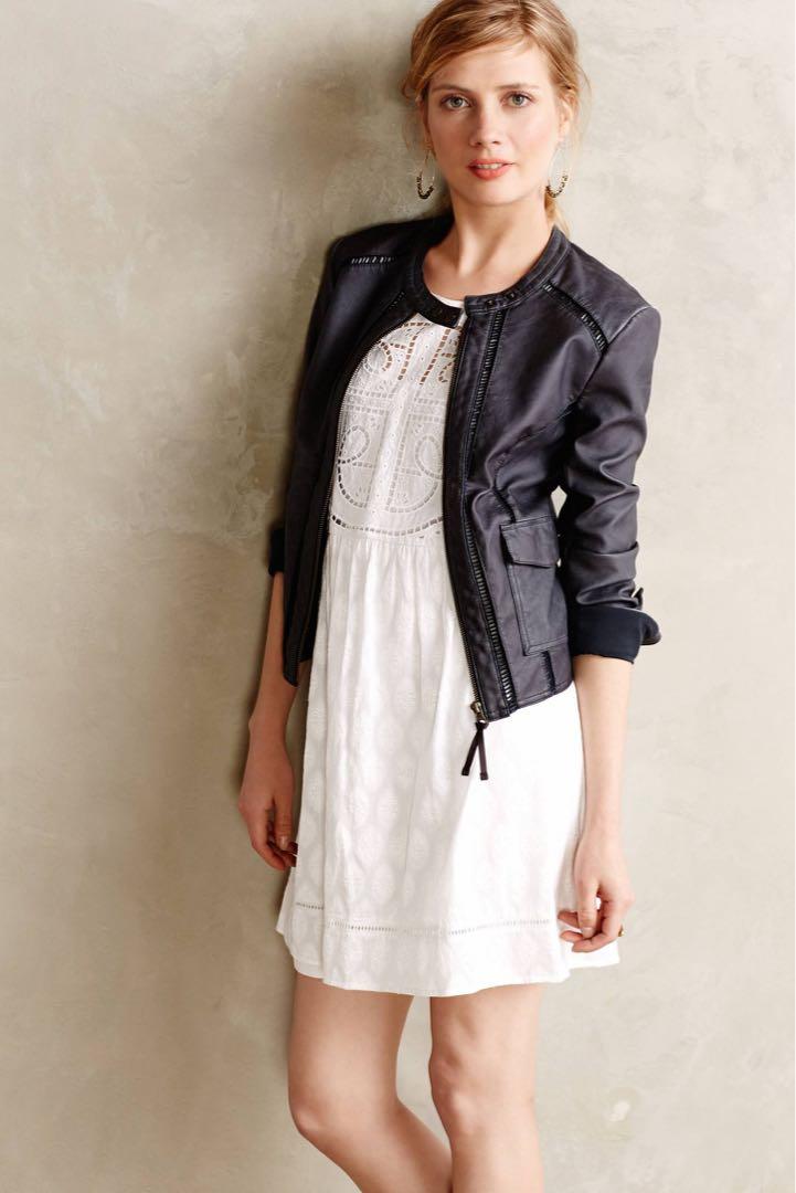 Anthro Hei Hei Leather Jacket