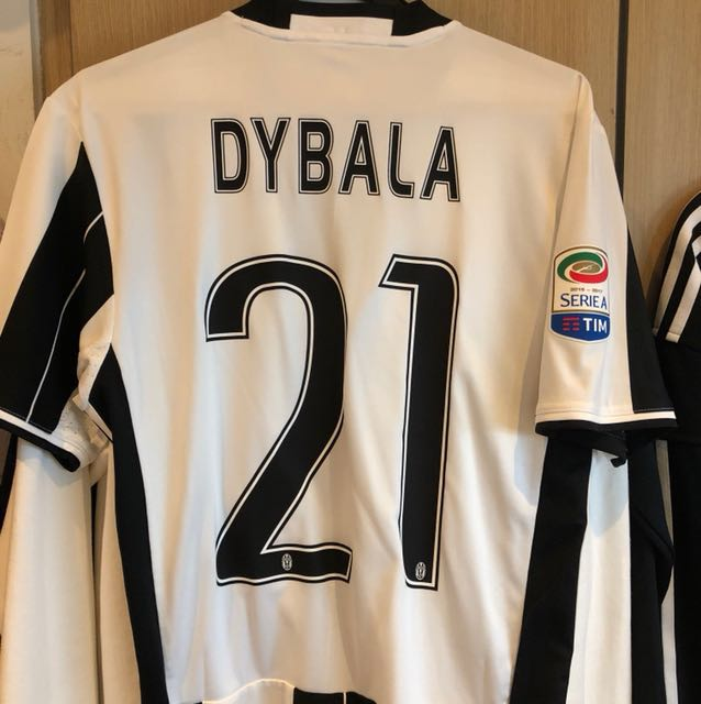 finest selection e848e 47d60 AUTHENTIC JUVENTUS DYBALA JERSEY