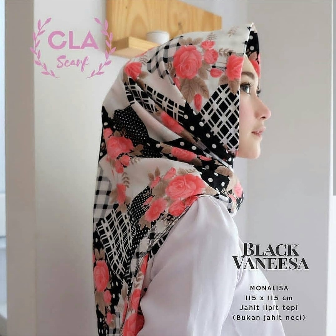 Black Vannesa Olshop Fashion Olshop Muslim Di Carousell
