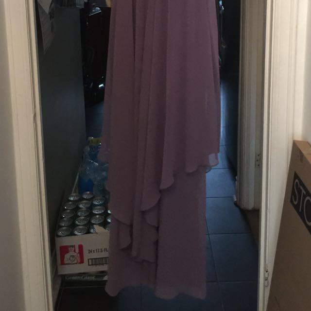 BNWT Lavender Prom or Bridesmaid Dress Size 12