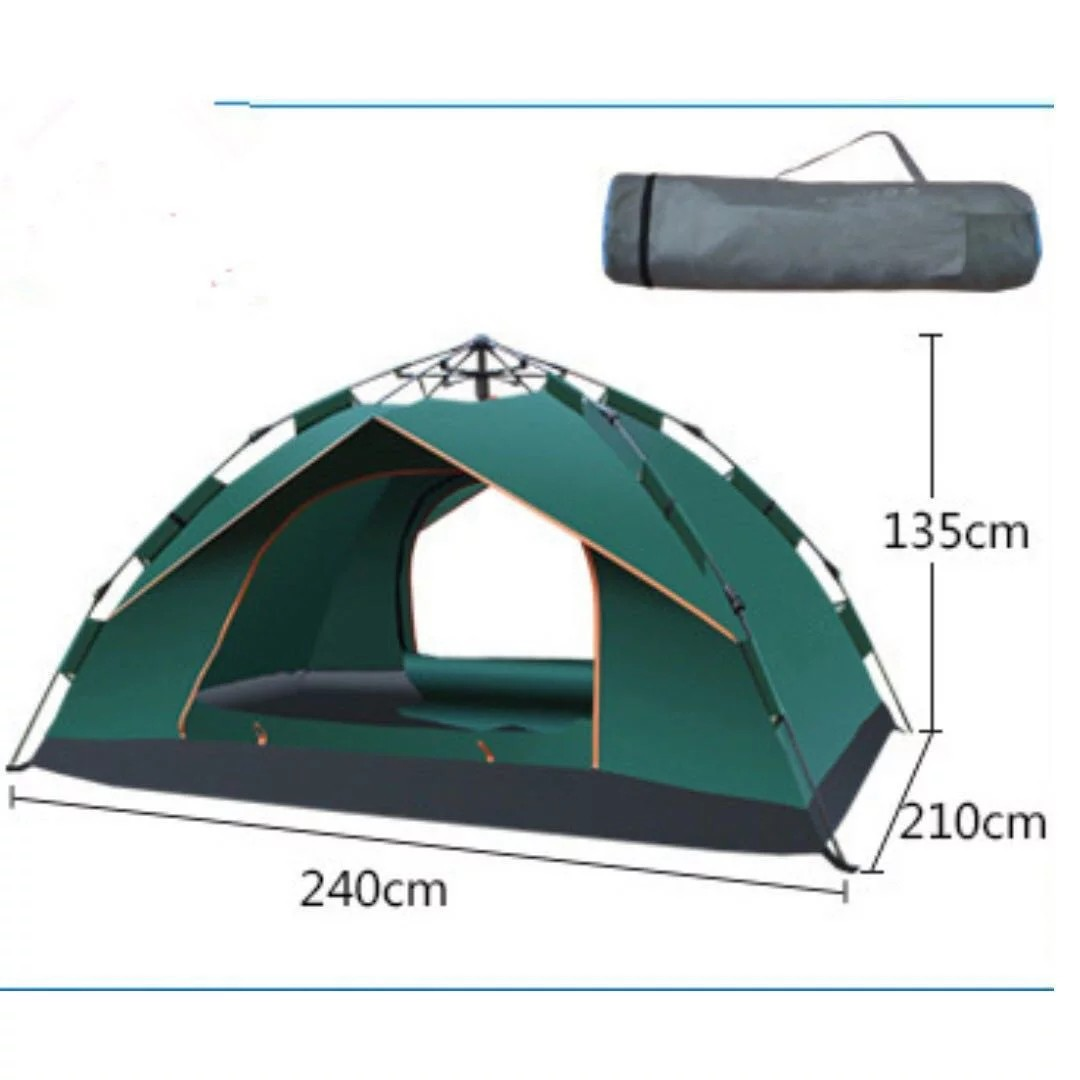 168771e25518 (Instock!!!)(Super Big) Brand New Ice Mountain Outdoor Waterproof Tent/  Picnic Tent / Camping Tent ( for 4 person use)