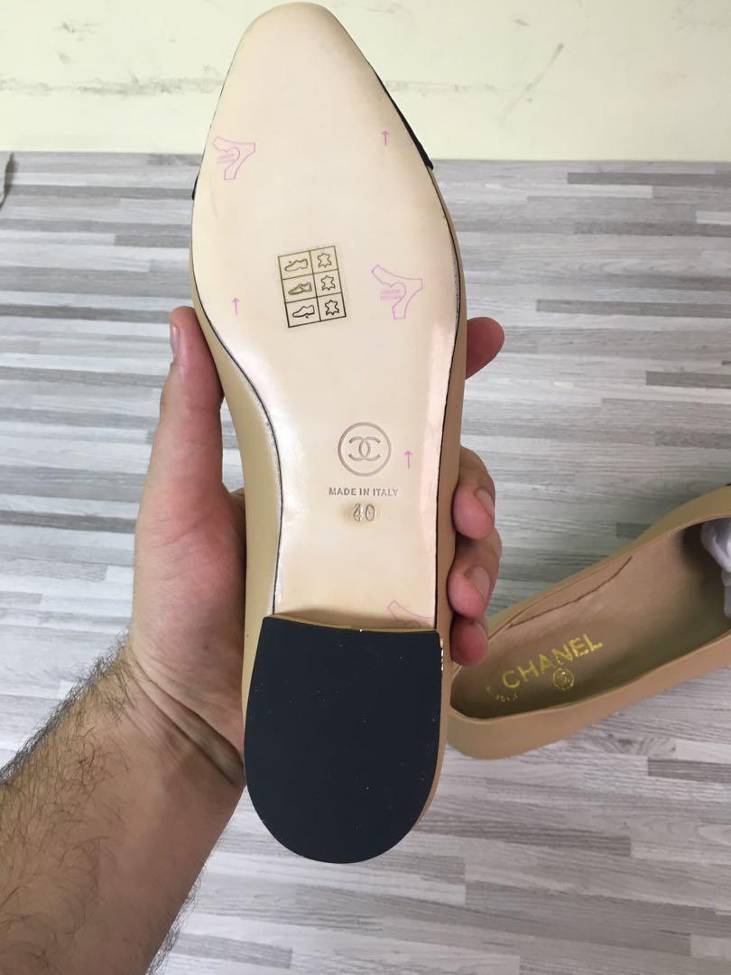 Chanel Espadrilles Nude Color