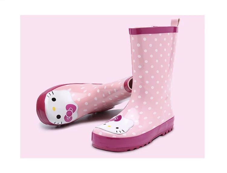 f3b88b0bb Children rain boots shoes schools kids girls hello kitty, Babies ...