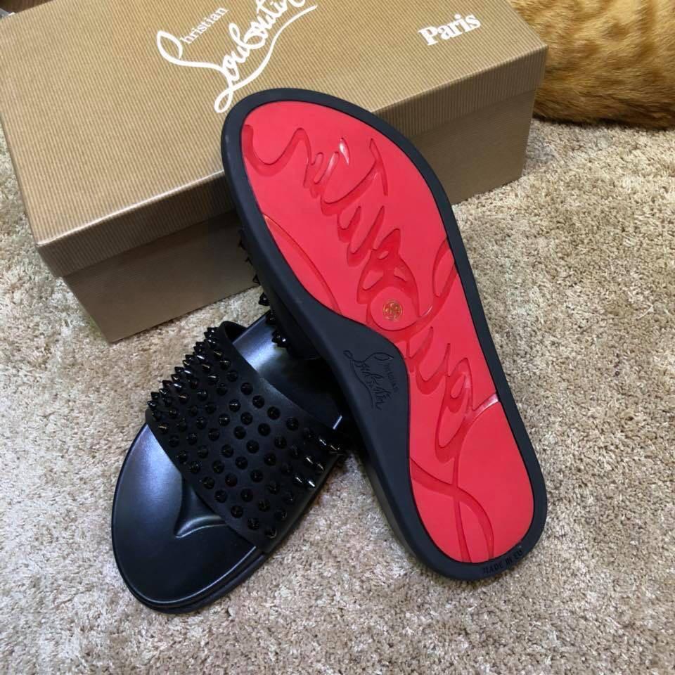 Christian Louboutin slippers, Men's