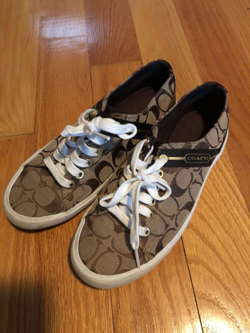 Coach sneakers / running shoes size 7