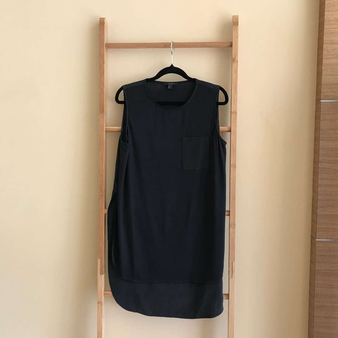 7a48a7cab7894d COS Tank Top with Silk Back