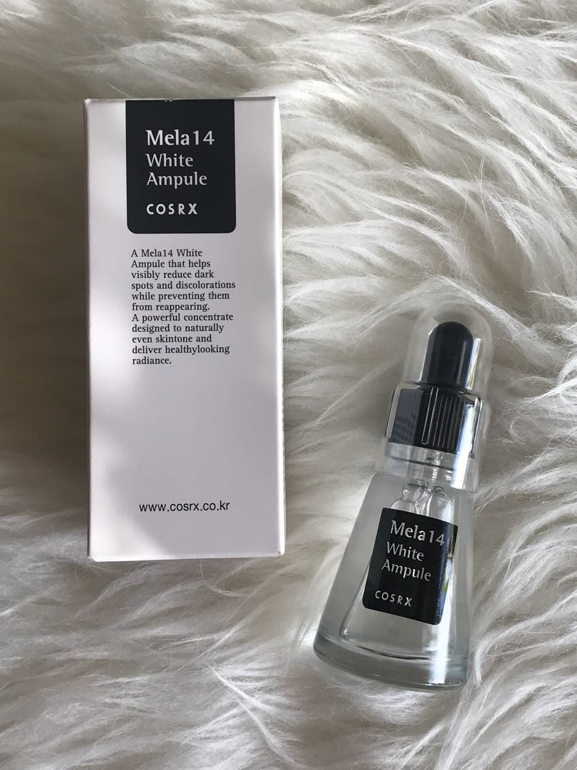 <<INSTOCK>> Cosrx Mela White Ampule, Health & Beauty, Bath & Body on Carousell