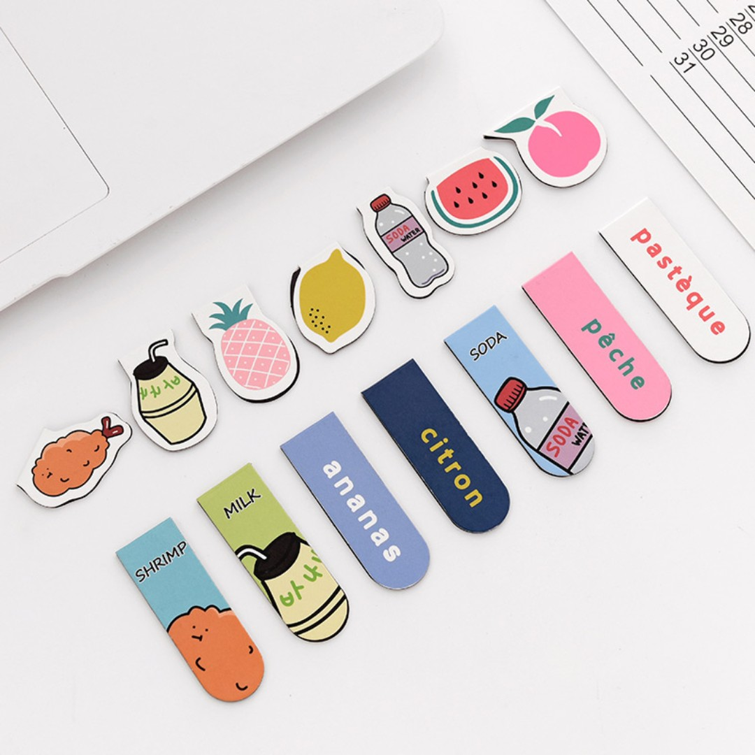 a15d40e38de Cute Magnetic Bookmarks [Free Postage], Books & Stationery, Stationery on  Carousell