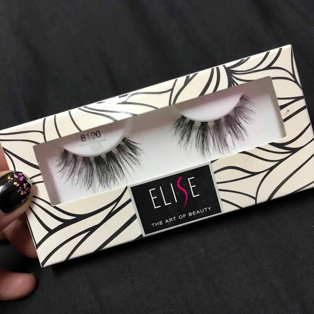 d5d70402164 Elise Eyelashes Code 8190, Health & Beauty, Makeup on Carousell