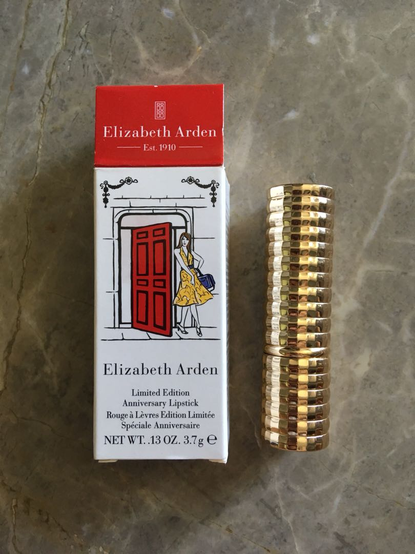 Elizabeth Arden Limited Edition Anniversary Lipstick In Red Door Red
