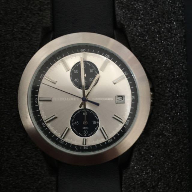 Filippo Loreti Como Blue Watch - Kickstarter Version