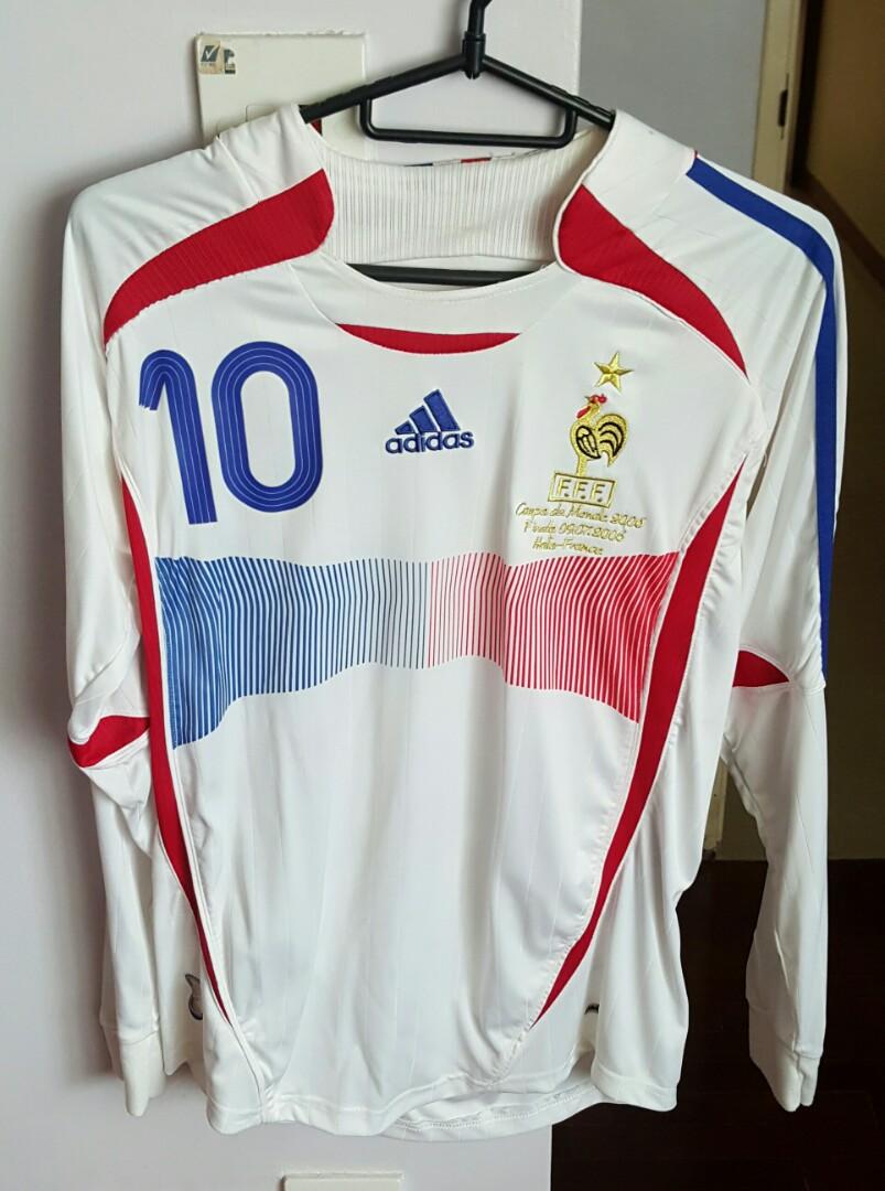 c8c86fd59f8 France World Cup Final 2006 Jersey