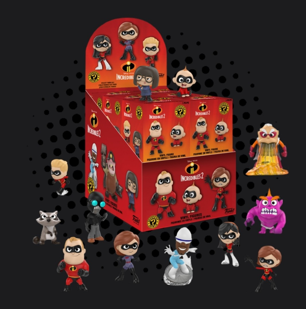 b7df89fb68a Incredibles 2 - Mystery Minis TARGET Exclusive Blind Box ( Display ...