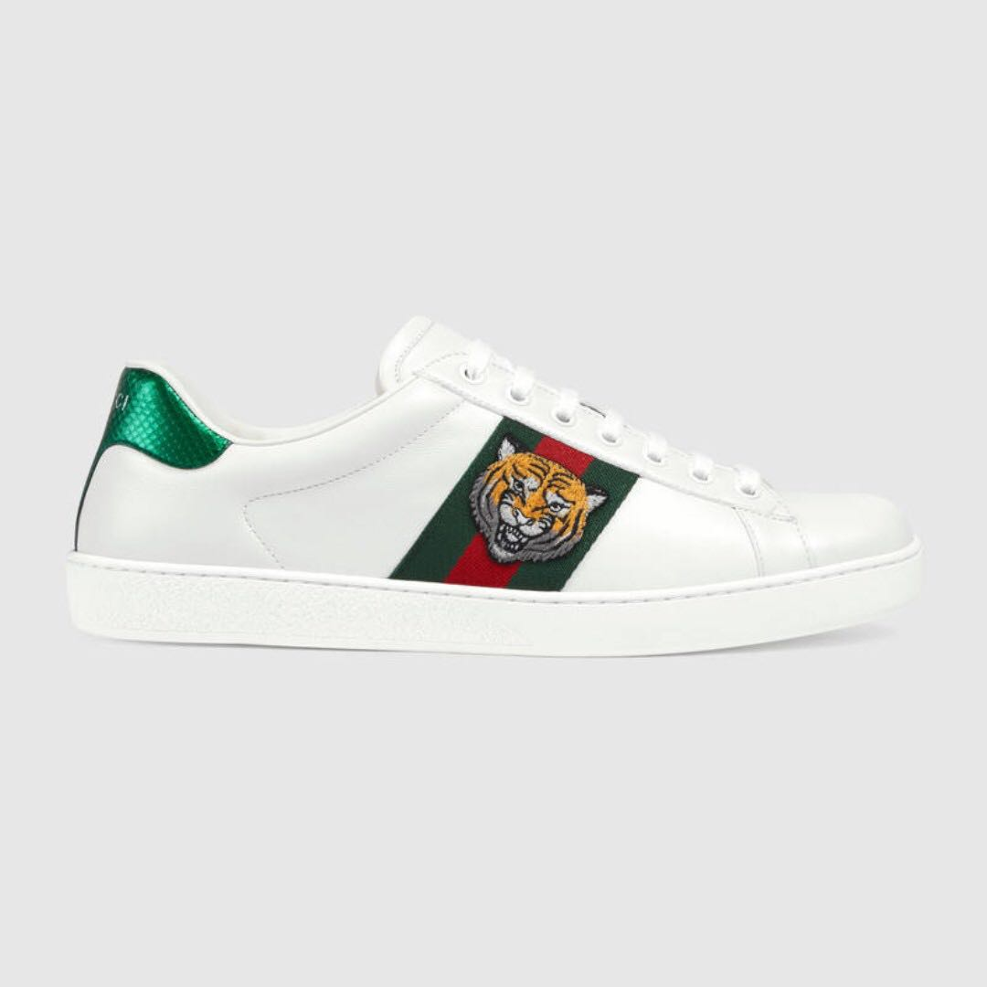 b93517258d9 Gucci Ace embroidered sneakers - Tiger (Size  9)