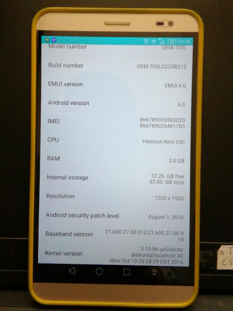 Huawei MediaPad X2 32gb 3gb