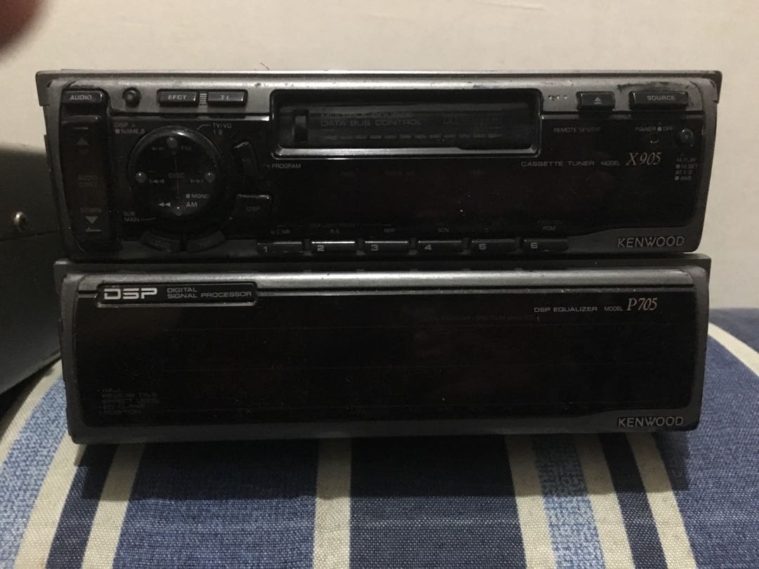 Kenwood head unit x905 and dsp p705