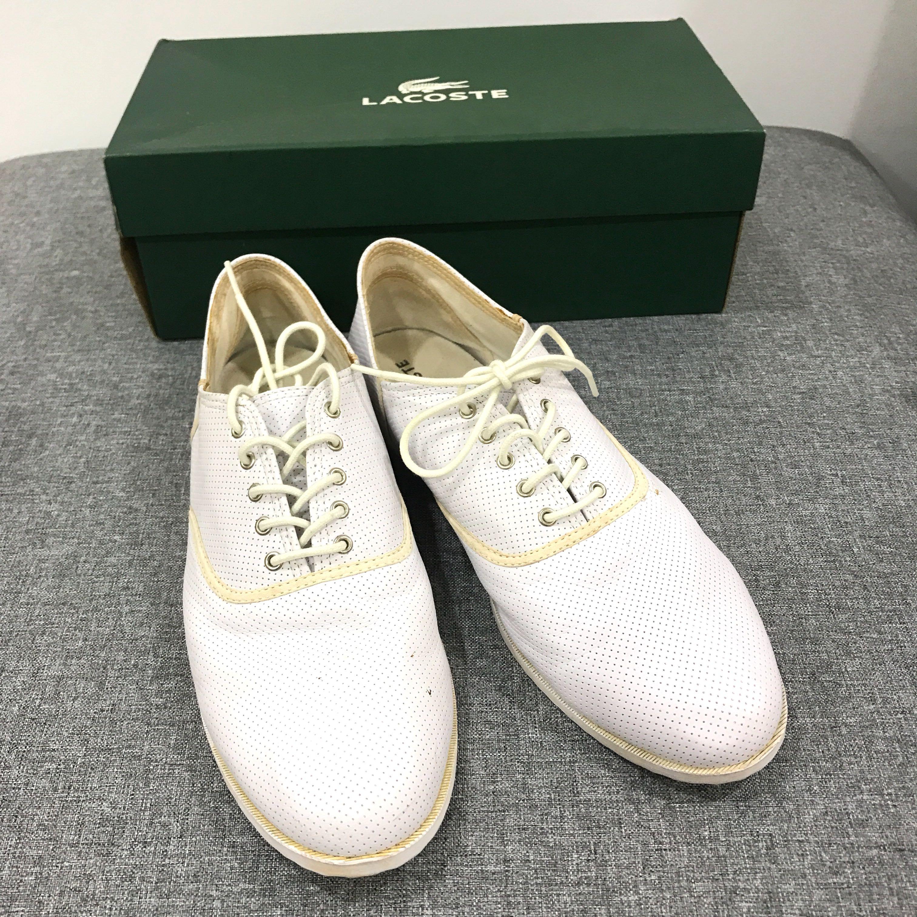 lacoste smart shoes