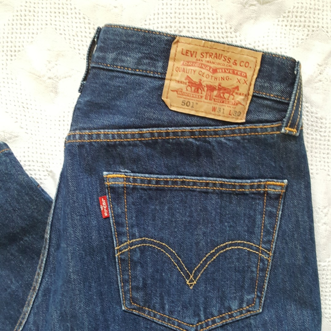 Levis 501 Button Fly- size 30