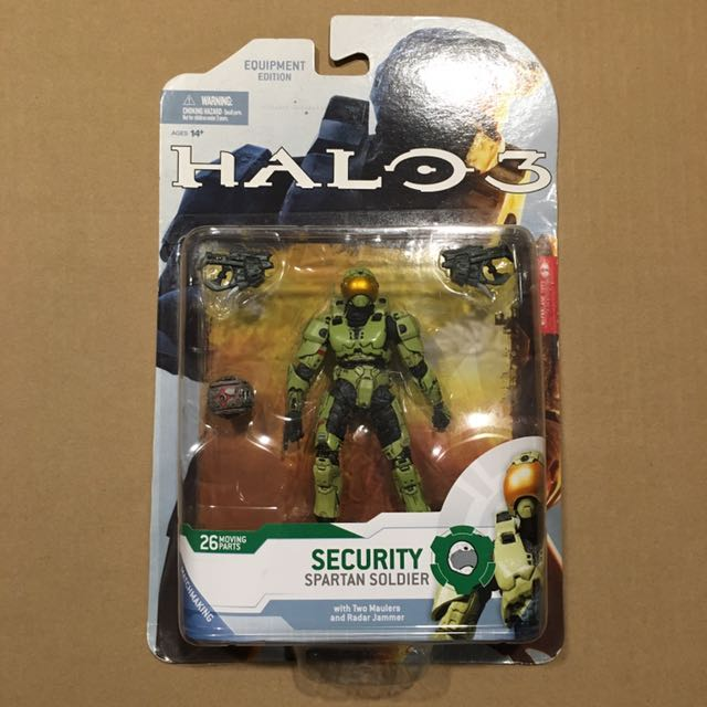 Mcfarlane Halo 3 Spartan Security Olive Green, Toys & Games
