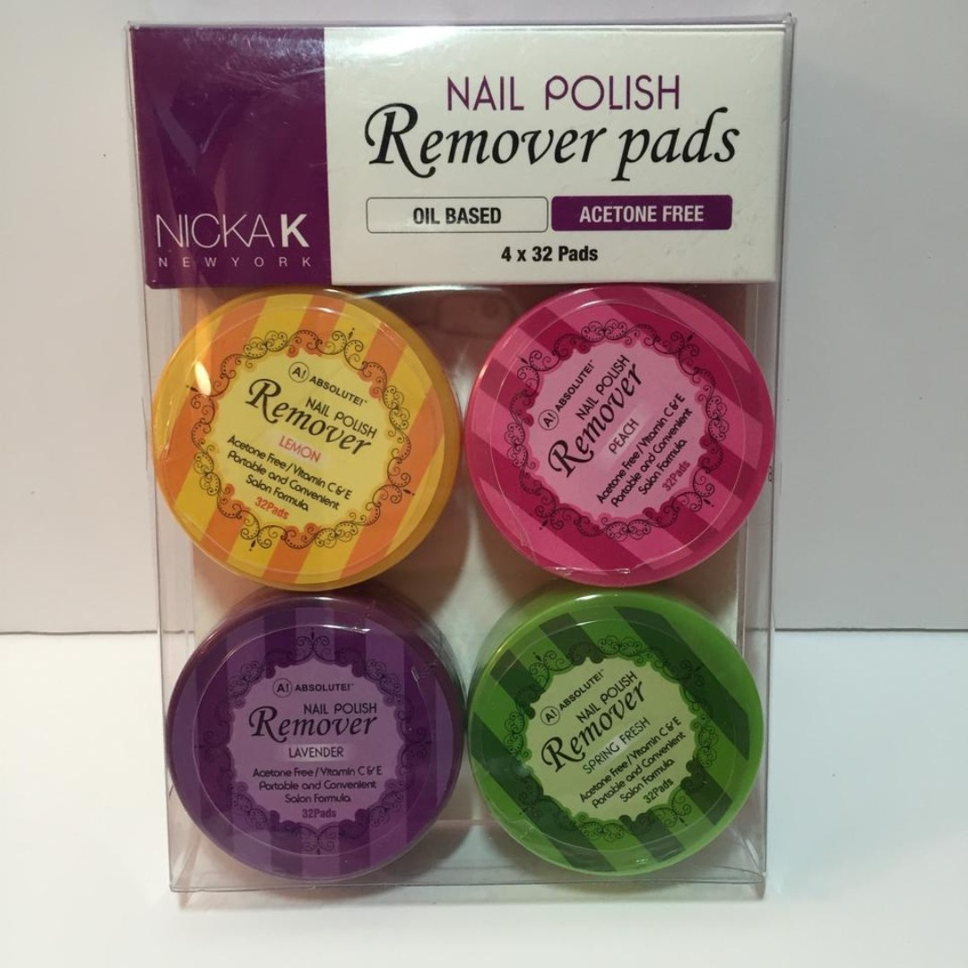 Nicka K - Nail Polish Remover Pads, Preloved Health & Beauty ...