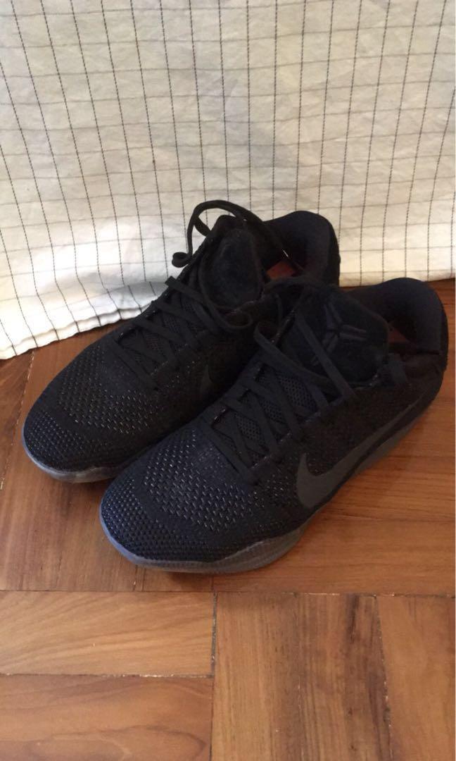 "dc6579b81c21 Nike - Kobe XI 11 - Elite Low "" Black Space"""