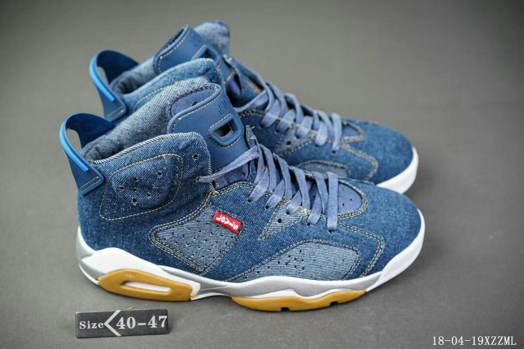 the latest 4cf7f a4653 Nike Air Jordan 6 X Levi s, Men s Fashion, Footwear on Carousell