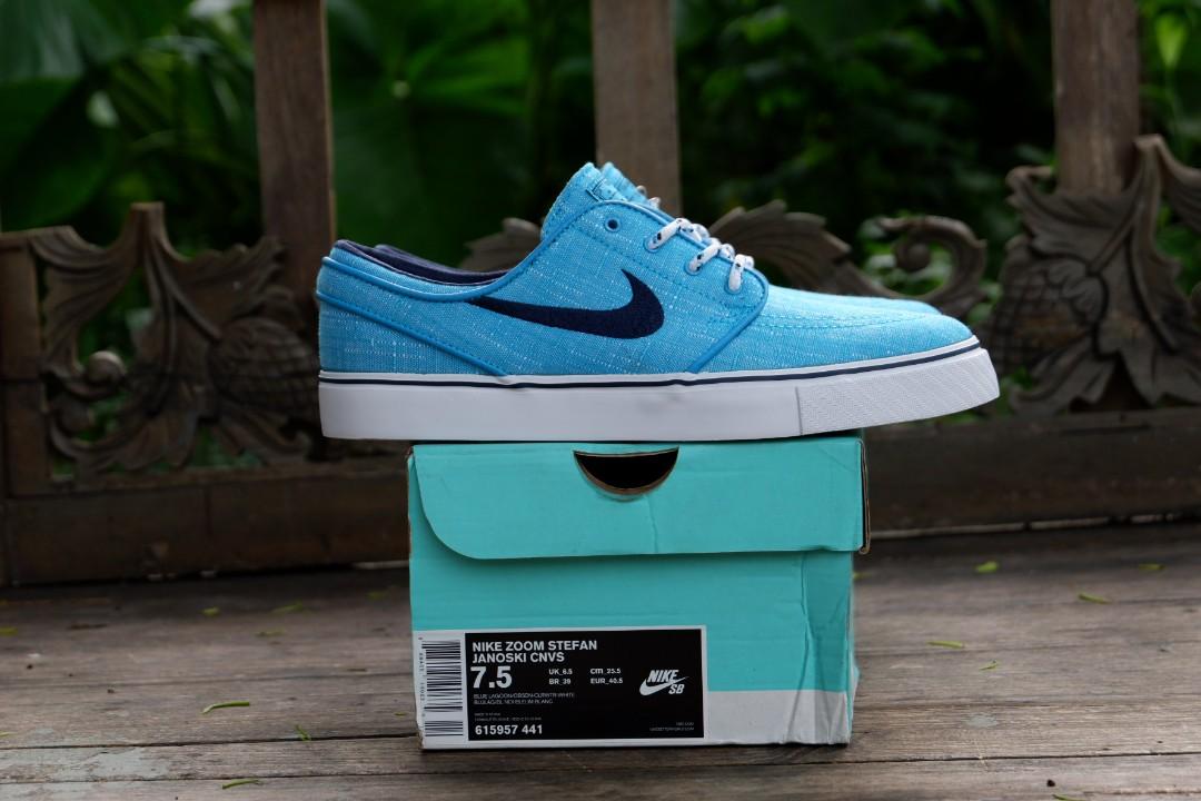 2411e70bbec7 Nike sb zoom stefan janoski blue lagoon original murah