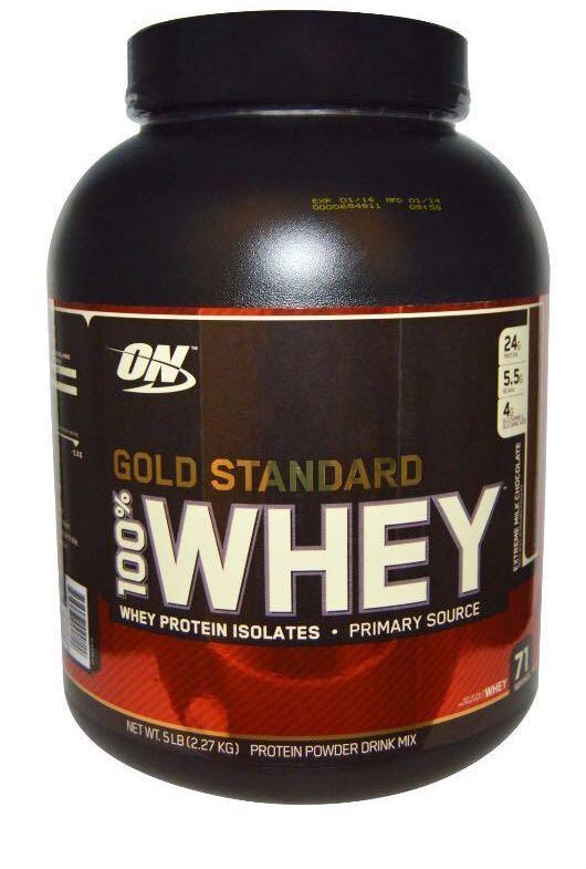 ON Optimum nutrition Gold Standard 100% Whey Chocolate 5lbs