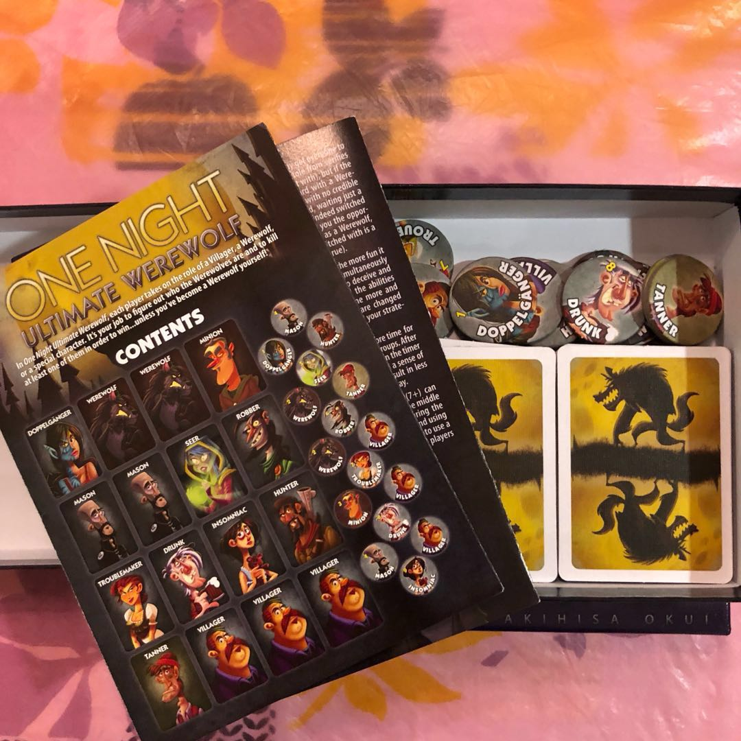 One Night Ultimate Werewolf (+ Ultimate Vampire)  New, going for cheap