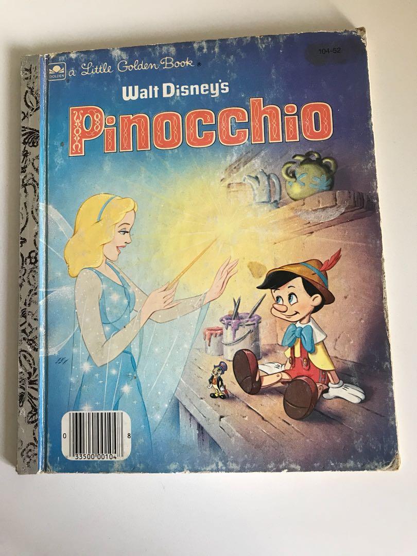 Pinocchio - Little Golden Book