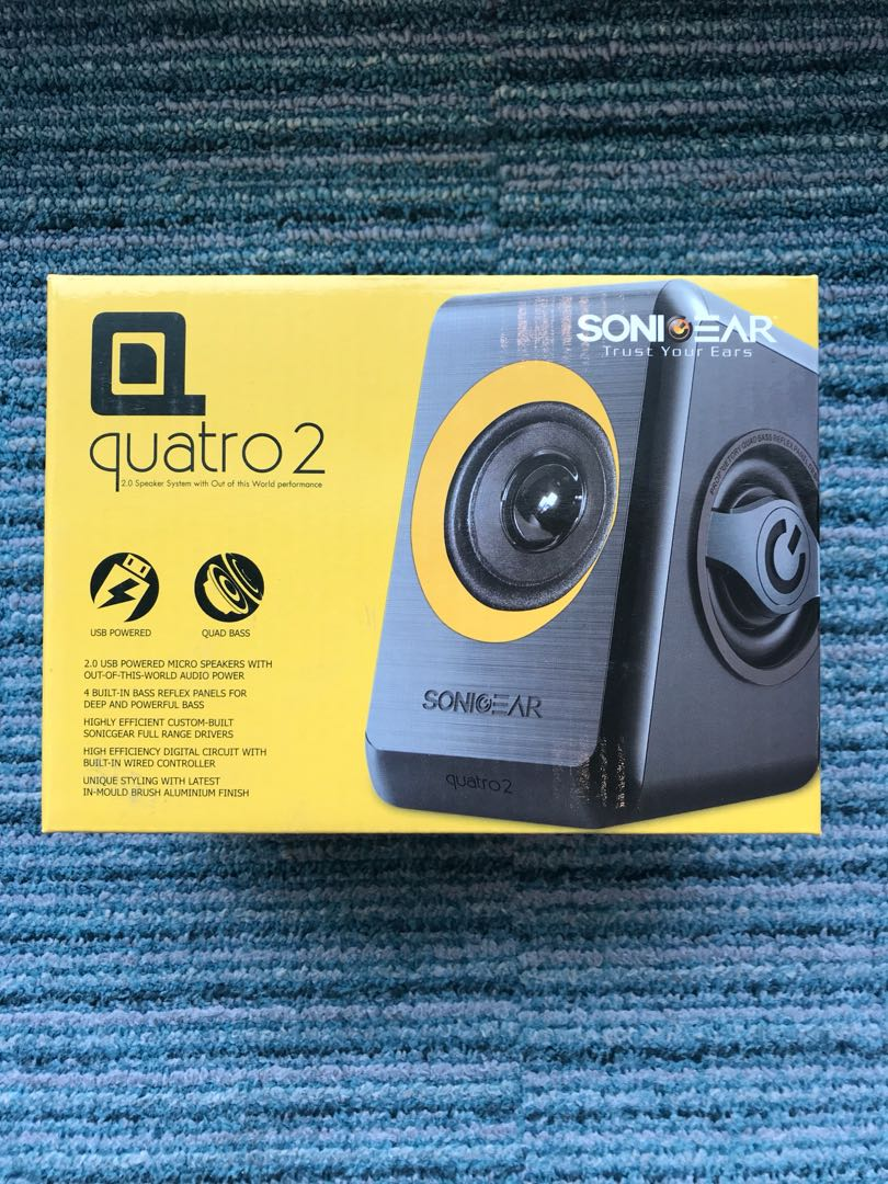 Sonic Gear Quatro 2 Electronics Audio On Carousell Speaker