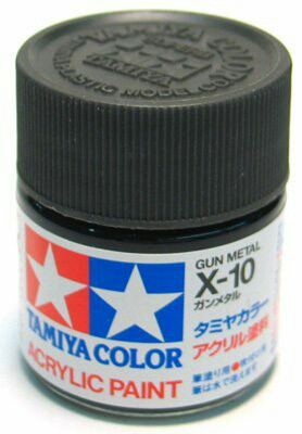 Tamiya Acrylic X 10 Gun Metal Paint