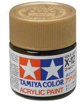Tamiya Acrylic X 12 Gold Leaf Paint