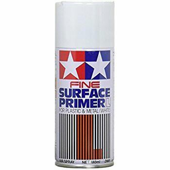 Tamiya Fine Surfacer Primer White L Spray