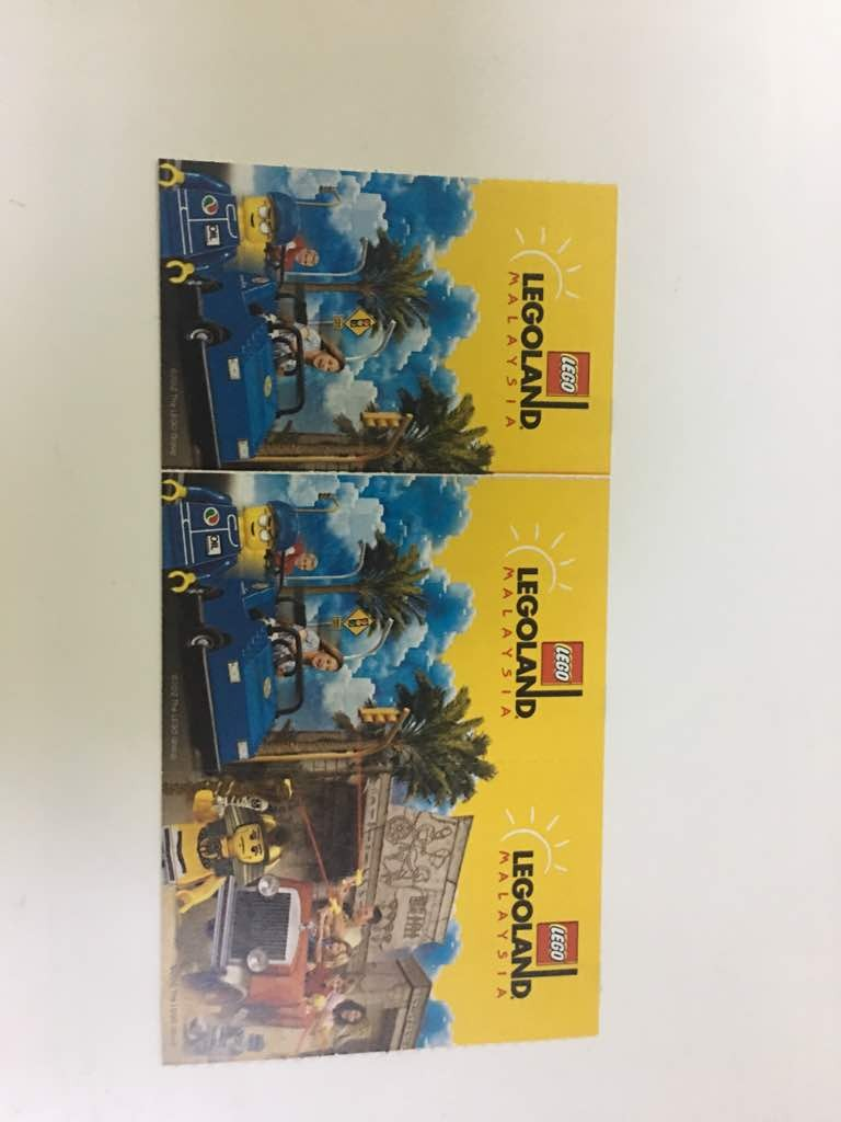 Tiket Legoland Combo Tickets Vouchers Attractions On Singapore Zoo Dewasa Carousell