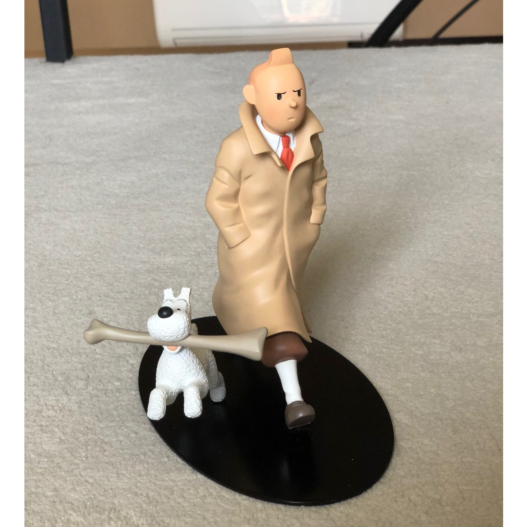 Tintin Voyageur Limited Edition Resin Figurine Toys Games