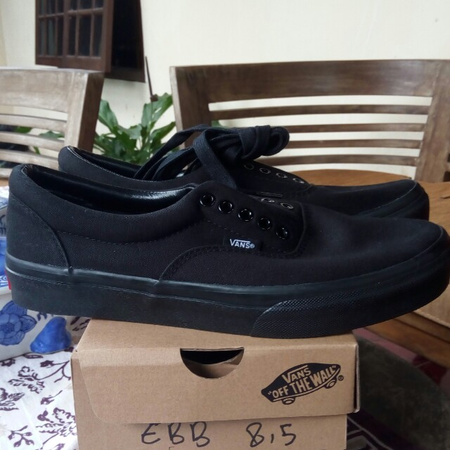 5d327d6bd7dd Vans Era All Black Original Japan Market