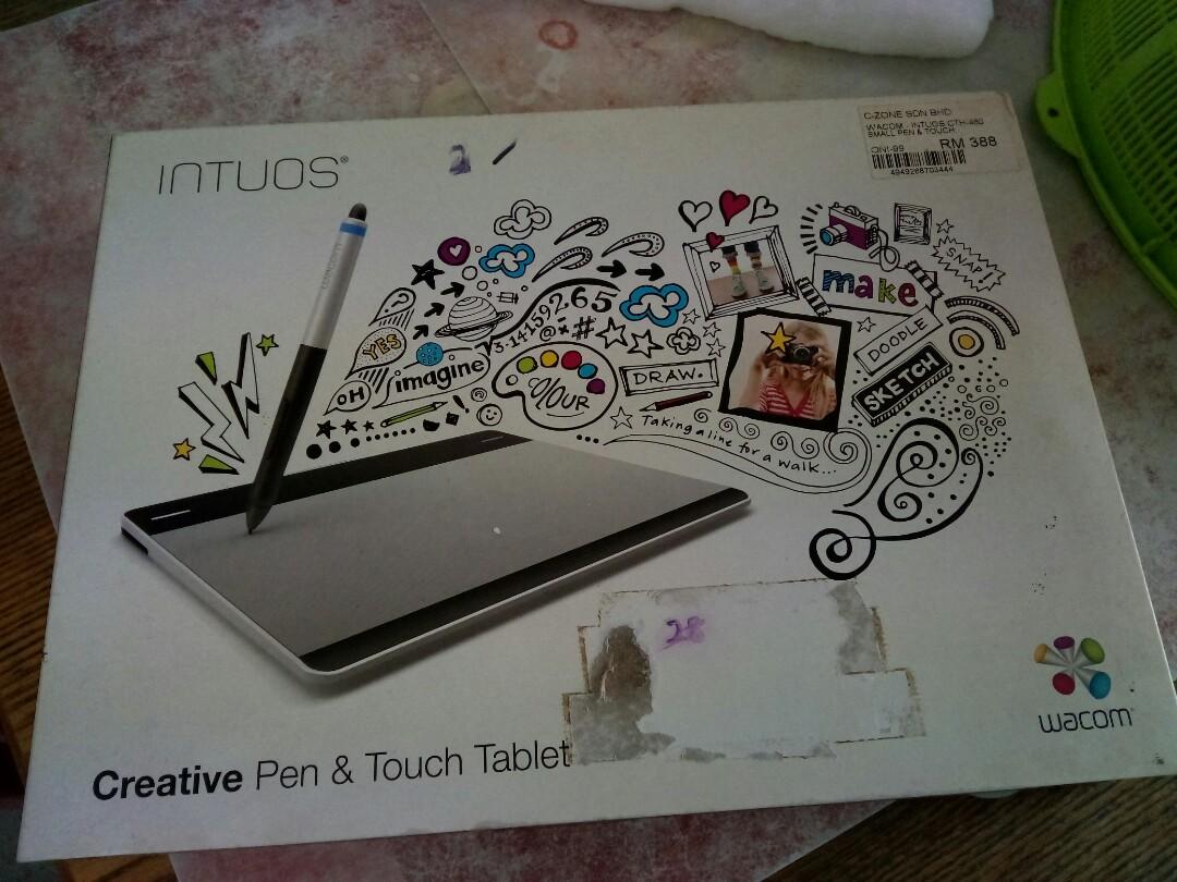 Wacom Intuos CTH-480 Tablet