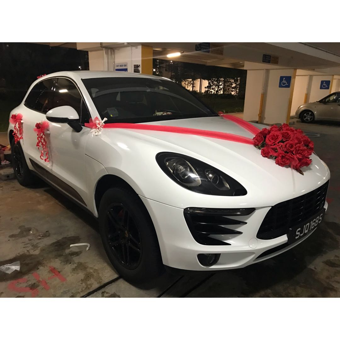 Wedding Bridal Car Decoration Design Craft Others On Carousell
